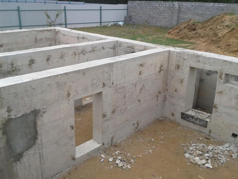 ленточный бетонный