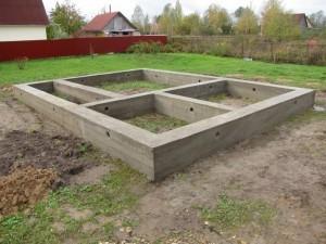 фундамент под каркас 2