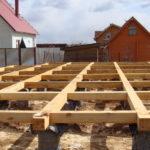Как построить столбчатый фундамент своими руками для каркасного дома