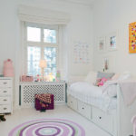Детская комната в белом цвете
