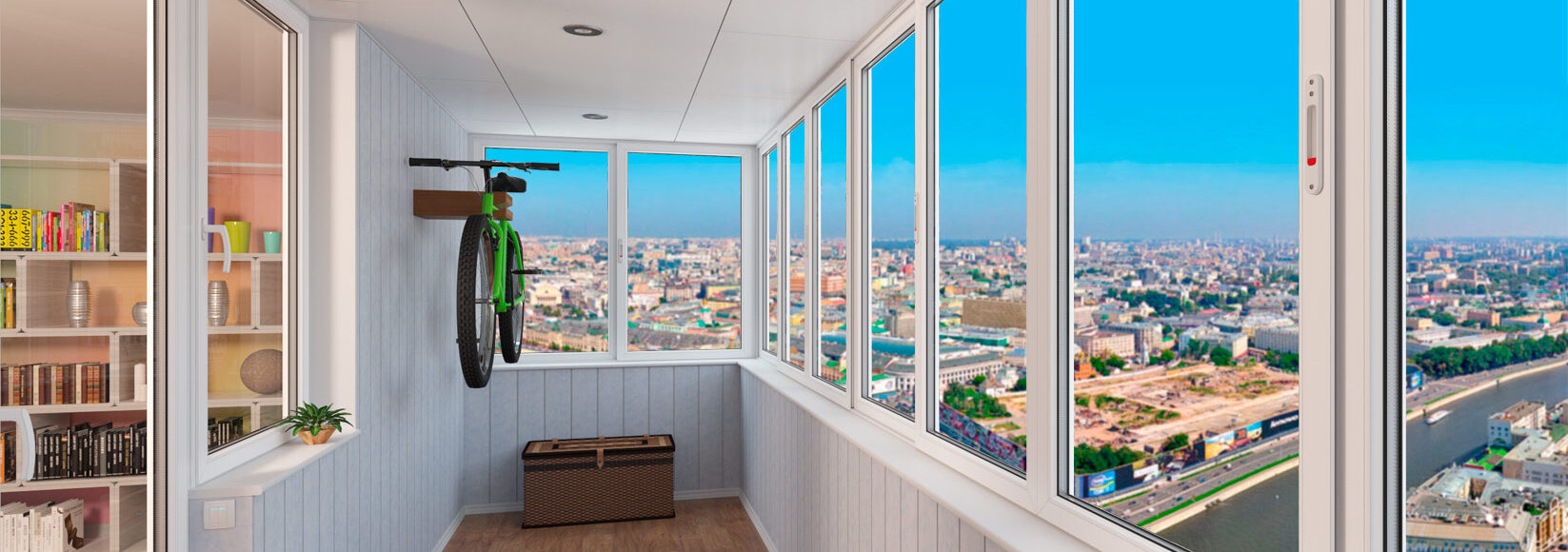 Основные моменты остекления балконов и лоджий