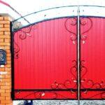 Ворота своими руками — от идеи до практического воплощения