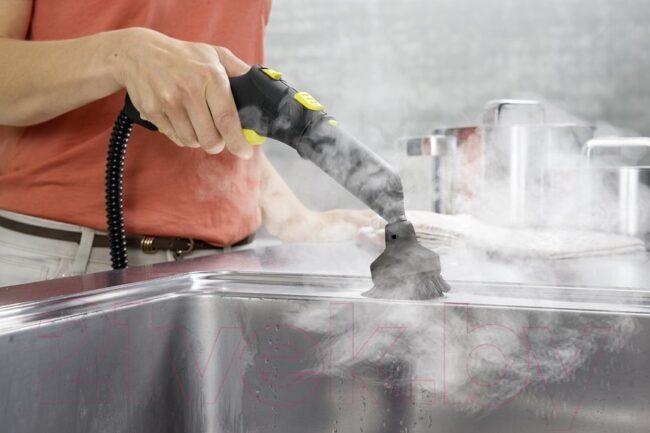 Уборка кухни с пароочистителем