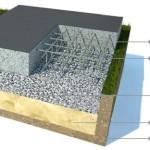 Фундамент плита: какова технология строительства