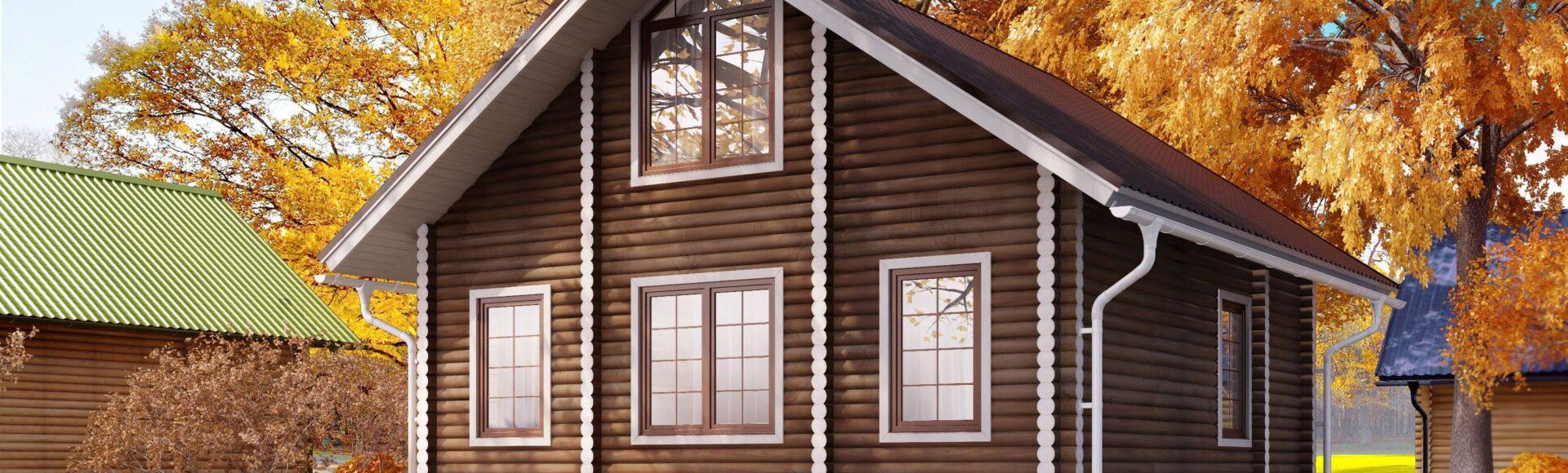 Деревянный дом— это уют и комфорт