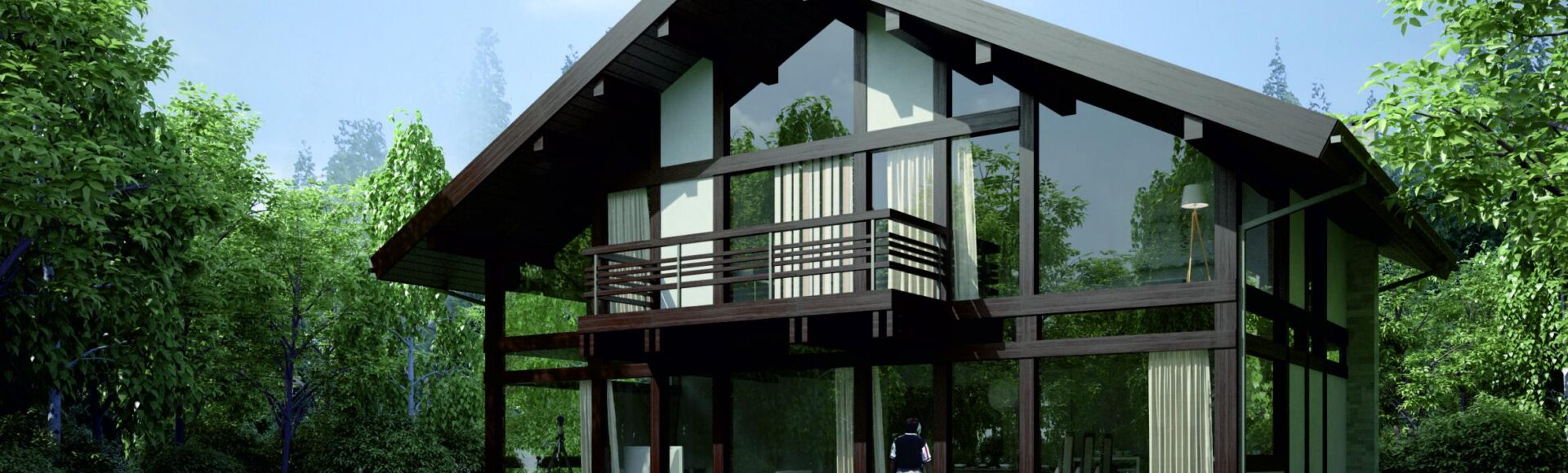 Дизайн дома в немецком стиле