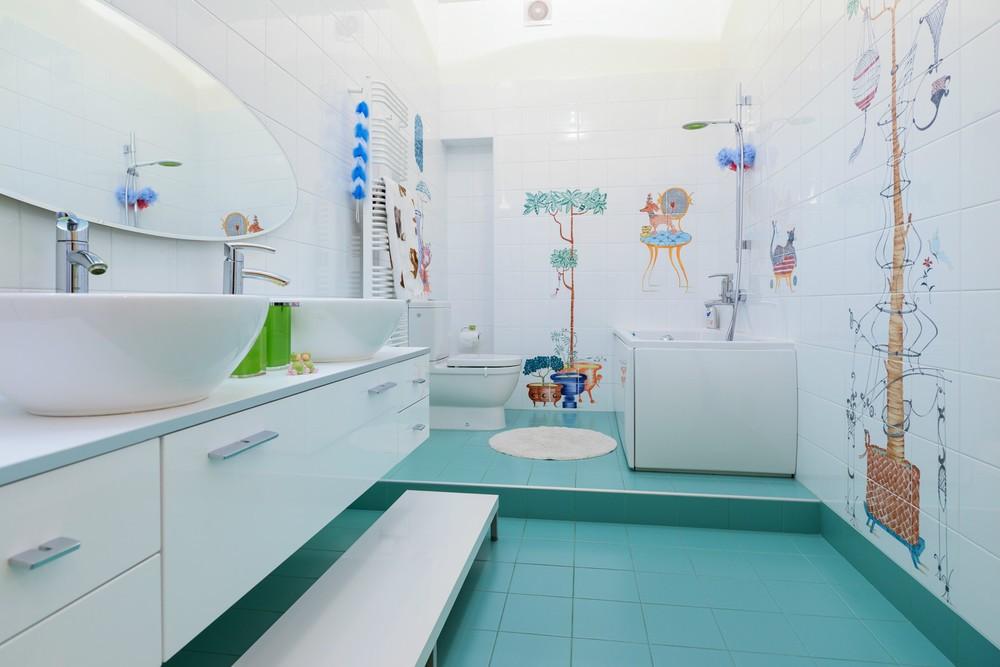 Веселая ванна для детей