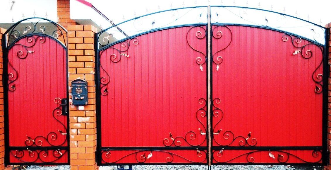 Ворота своими руками— от идеи до практического воплощения