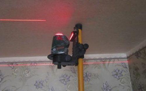 лазерный уровень для натяжных потолков