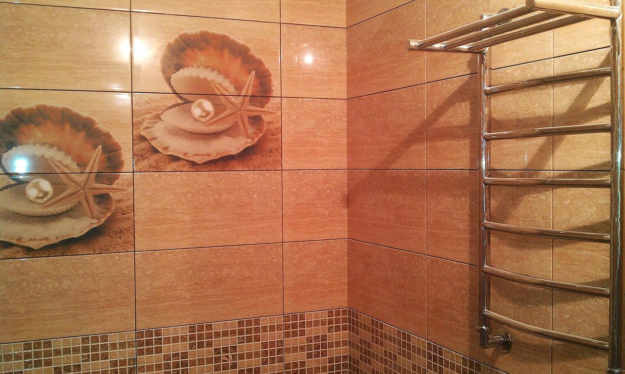 Керамическая плитка в ванне