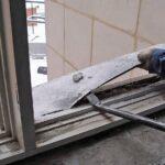 Демонтируем старые окна