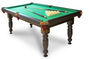 Из чего делают бильярдные столы