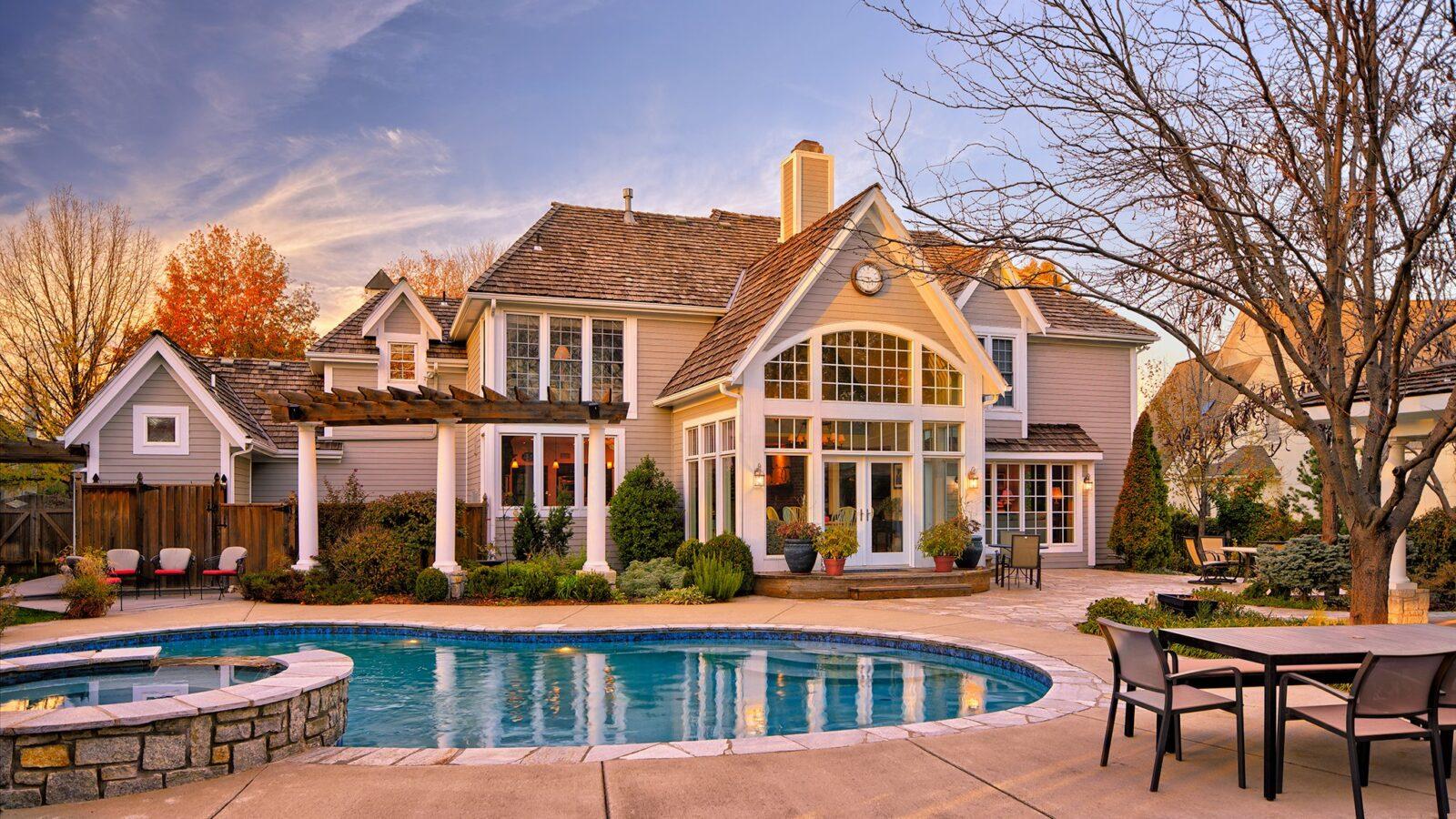 Красивый дом мечты