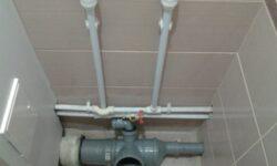 Монтаж канализации из полипропилена