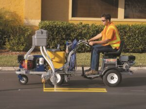 Оборудование для нанесения дорожной разметки