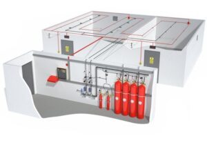 Системы газового автоматического пожаротушения